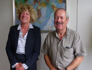 David Sillifant, Chair and Jane Royle, Vice Chair, Inclusion Cornwall