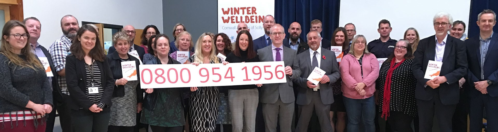 Winter Wellbeing launch 2017