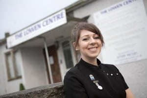 Jess supported jobseekers with advice on starting their own business